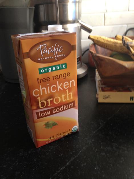 3 chicken broth